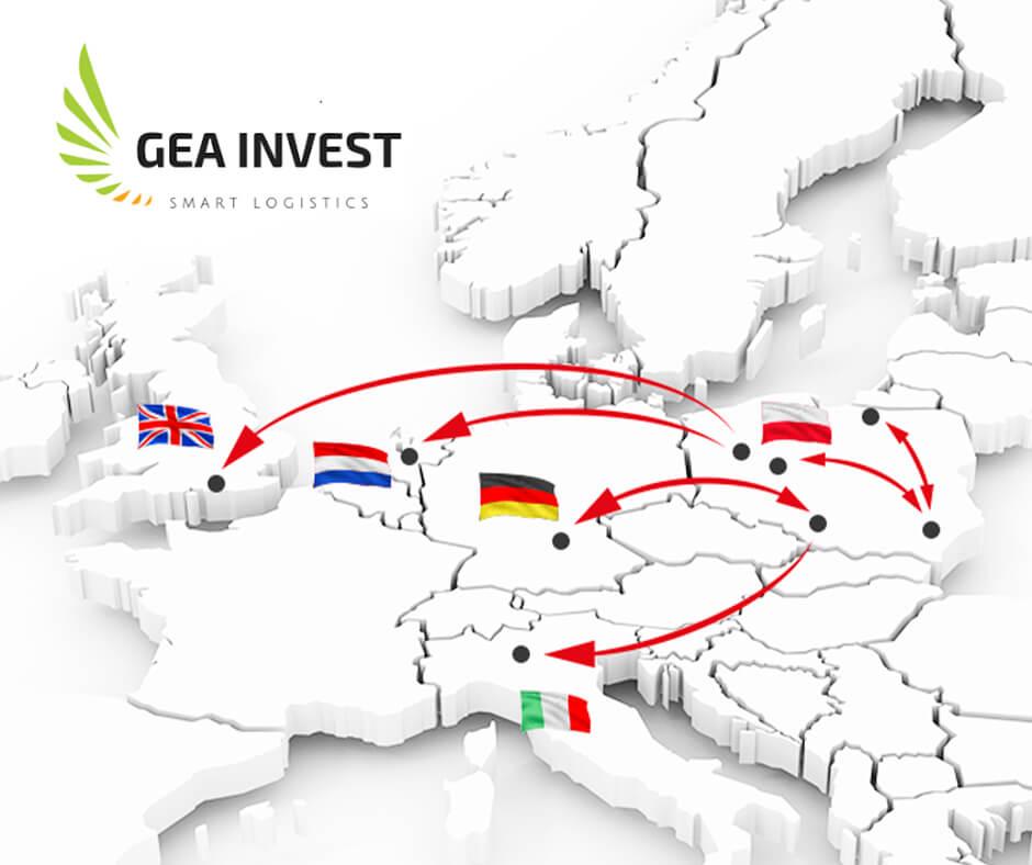 Gea Invest propozycja tras